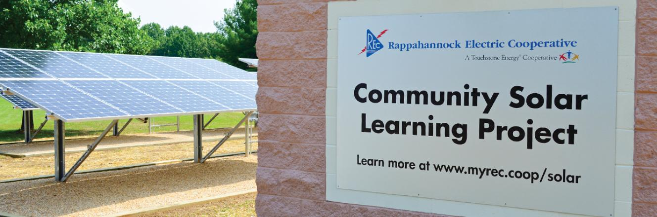 Community Solar Learning Project